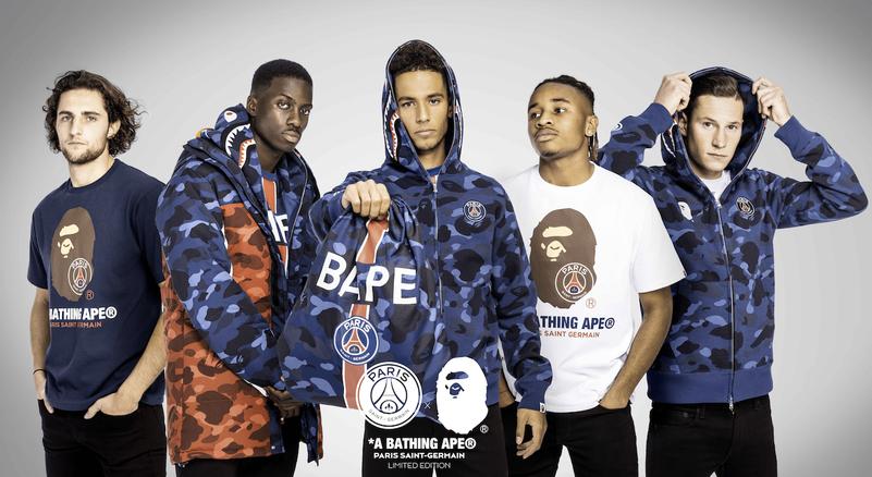 Блог им. lishuaichao: Коллекция Paris Saint-Germain x BAPE стартует 1 декабря